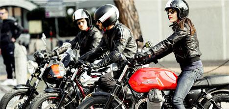 Motosiklet Tutkunları Ferco Moto Day etkinliğinde