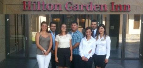 Hilton Garden Inn'den Hayvan Barınağına destek