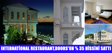 DOORS GRUBU'NUN %38'5'U SATILDI