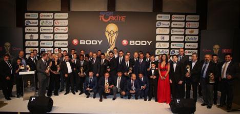 Türkiye Spor Adamları Ödülleri Verildi