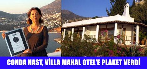ROMANTİK OTEL'E PLAKET
