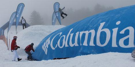 """FIS Snowboard World Cup'a Columbia destek oldu"