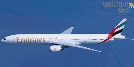 Emirates, Boeing 777-300 uçağı ile hizmet verecek