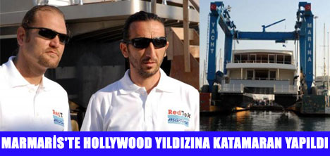 HOLLYWOOD YILDIZINA KATAMARAN