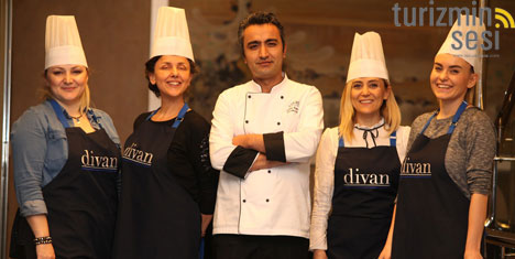 Divan Otel Ankara mutfağı çok sosyal