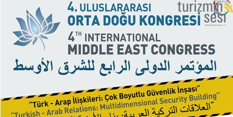 4. Uluslararası Orta Doğu Kongresi Hatay'da