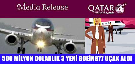 QATAR AIRWAYS KÜRESEL KRİZİ ALT ETTİ