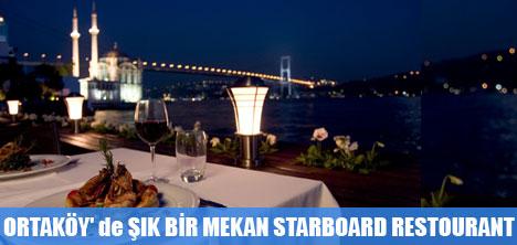Boğaz Manzarasıyla StarBoard Restaurant Ayrıcalığı