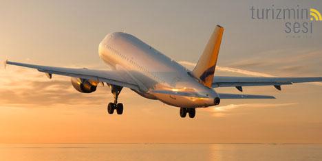 Haziranda Uçakla Seyahatler %15 Arttı