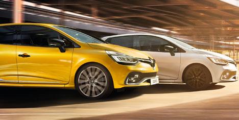 Renault Sport tarzı tasarım ve sürüş