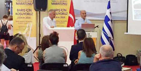 Yunanistan'da Gelibolu Maratonu'nu Tanıttılar