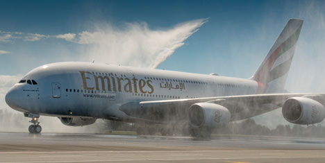 Emirates, Dubai'den Yeni Zelanda'ya günde 5 kez uçuyor
