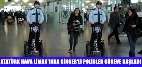 AHL'DE GİNGER'Lİ POLİSLER
