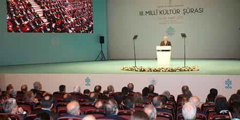 III. Milli Kültür Şûrası sonuç raporları yayınlandı