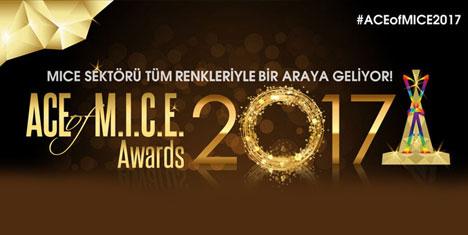 ACE of M.I.C.E. Ödül Töreni İçin Geri Sayım Başladı