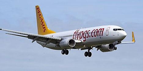 Pegasus uçuş ağını 5 yeni dış hatla genişletiyor