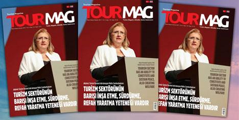 TOURMAG Turizm Dergisi yayınlandı