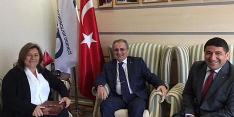 TÜROB'dan TYD'ye tebrik ve destek ziyareti