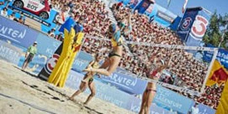 Tuna adasında kum sporları