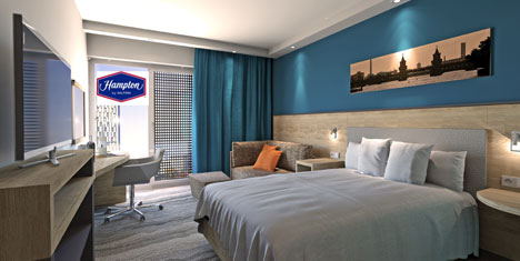 Hampton by Hilton Berlin misafirlerini bekliyor
