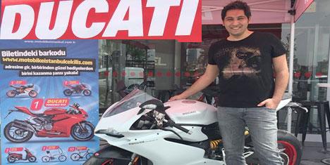 Ducati Panigale'nin Sahibi İstanbul'dan çıktı