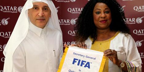 Qatar Airways FIFA'nın resmi sponsoru oldu