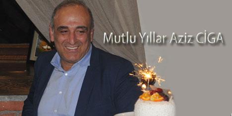 Turizmci Aziz Ciga'ya sürpriz doğum günü partisi