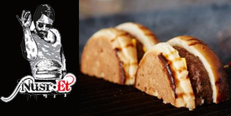 Nusr-Et Burger üç yeni mekanı ile hizmette