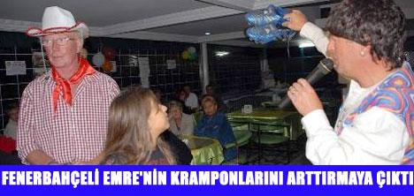 EMRE'NİN KRAMPONU AÇIK ARTIRMADA
