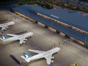 Muş Havalimanı Yeni Terminal Binası'nın temel atma töreni, gerçekleştirildi