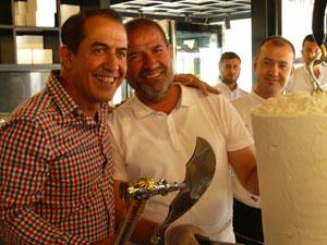 Aşçılar Derneği 1. Uluslararası Kahramanmaraş Dondurma Festivali'ne Katıldı