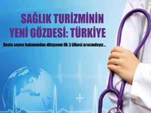 Sağlık turizminde en çok tercih edilen ilk üç ülke içindeyiz
