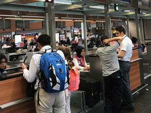 Yabancı ziyaretçi sayısı geçen yılın bu dönemine göre % 28.71 oranında artış gösterdi