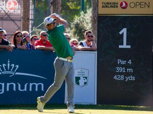 Turkish Airlines Open Golf Turnuvası, Regnum Carya'da başladı