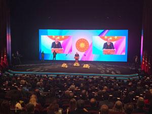 Ankara'da yapılan Turizm Şurası'na Alanya'dan TÜROFED Yönetim Kurulu Üyeleri Burhan Sili ve Gülçin Güner katıldı