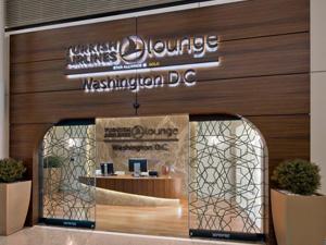 Türk Hava Yolları (THY) ve TAV'ın, Washington'un giriş kapısı Dulles Havalimanı'ndaki yolcu salonu projesi ödüle layık görüldü