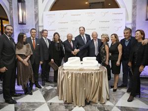 Conrad İstanbul Bosphorus, 25. yıl dönümünü seçkin davetlilerin katıldığı özel bir partiyle kutladı