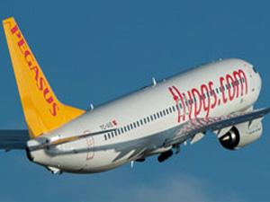 Pegasus Hava Yolları'na ait Boeing 737-800 tipi uçak Trabzon Havalimanı'na iniş yaptığı sırada pistten çıktı