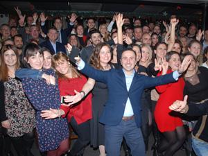 Türkiye Sabre ekibi, acentalarla çoşkulu bir parti ile yeni yıla merhaba dedi