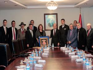 Turizmciler, Başbakan Yardımcısı Mehmet Şimşek'e taleplerini iletti