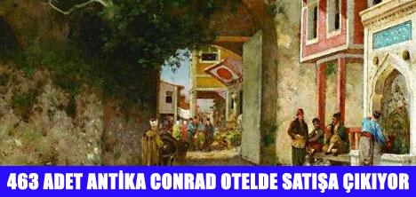 CONRAD OTEL'DE MÜZAYEDE