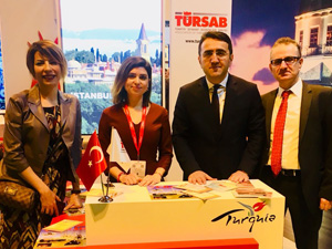 TÜRSAB, Uluslararası Birçok Önemli Fuar'da yer almaya devam ediyor