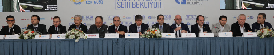 """Menderes Türel: 'Antalya Seni Bekliyor' Kampanyasıyla İç Turizme En Büyük Desteği Sağlayacağız"""""""