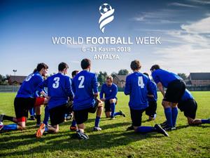 Rekabetin ortaya çıkaracağı tüm bu duygular World Football Week'te!