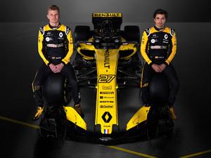 Renault Sport Formula 1 Takımı, yeni sezonda yarışacağı Renault R.S. 18 aracını tanıttı