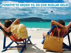Türkiye'yi geçtiğimiz yıl yüzde 12,2 pay ile en çok Rusların ziyaret ettiği belirlendi