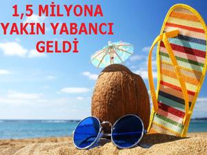 Türkiye'yi ziyaret eden yabancı sayısı % 38,48 artış gösterdi
