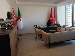 Kayı İnşaat, Türk Hava Yolları'nın Cezayir'in başkentindeki ofis inşaatını teslim etti