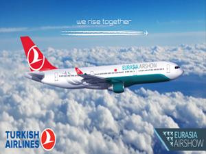 Eurasia Airshow, Türk Hava Yolları ana partnerliğinde gerçekleşecek