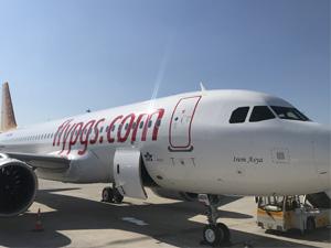 """Pegasus Hava Yolları, TC-NBR kuyruk tescilli """"İrem Asya"""" isimli uçağı teslim aldı"""